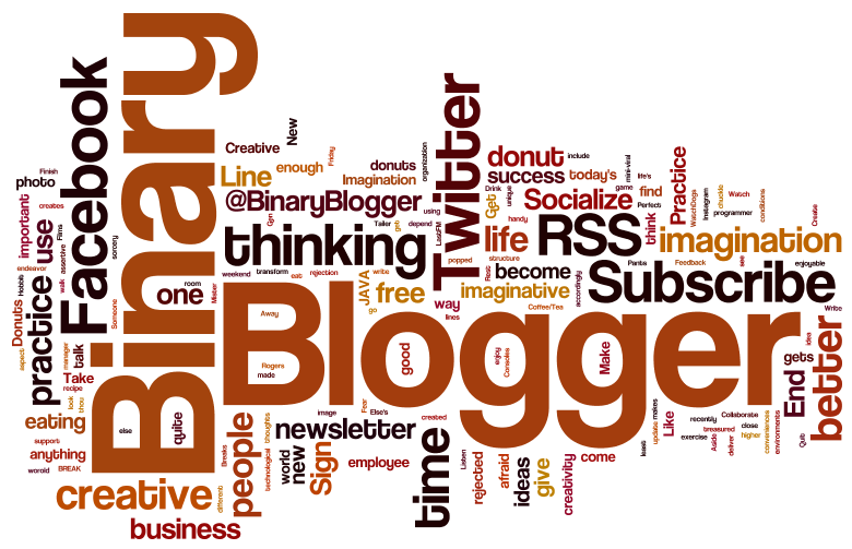 Wordle, Create Your Own Word Cloud Images - Binary Blogger
